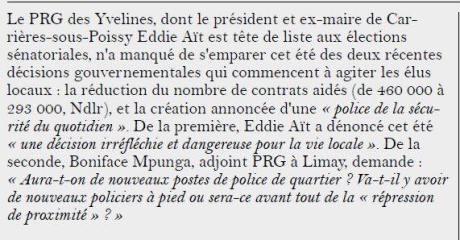 Agir78 Gazette Yvelines 2017-08