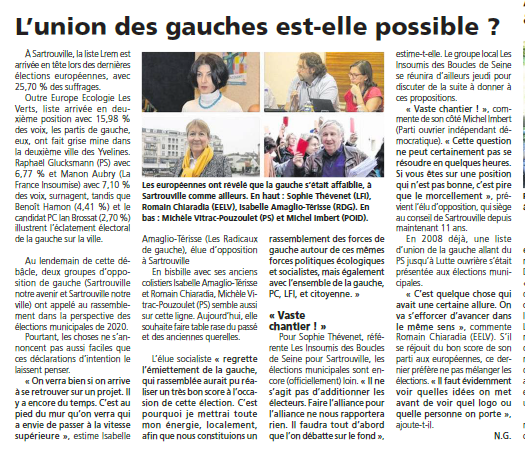 Union Gauches C78 2019-06-05